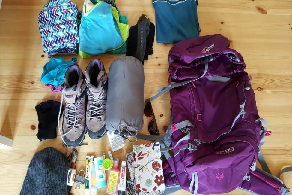 Camino de Santiago packing guide