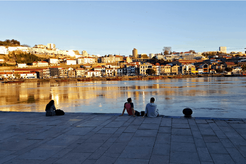Hanging out along the Douro River, Porto