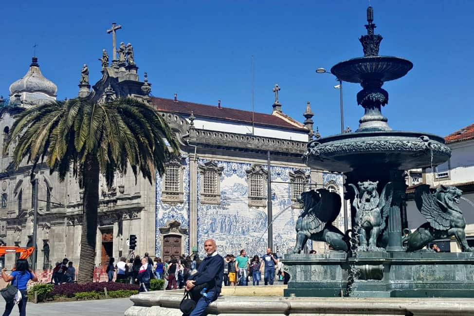 Fountain of the Lions, Porto