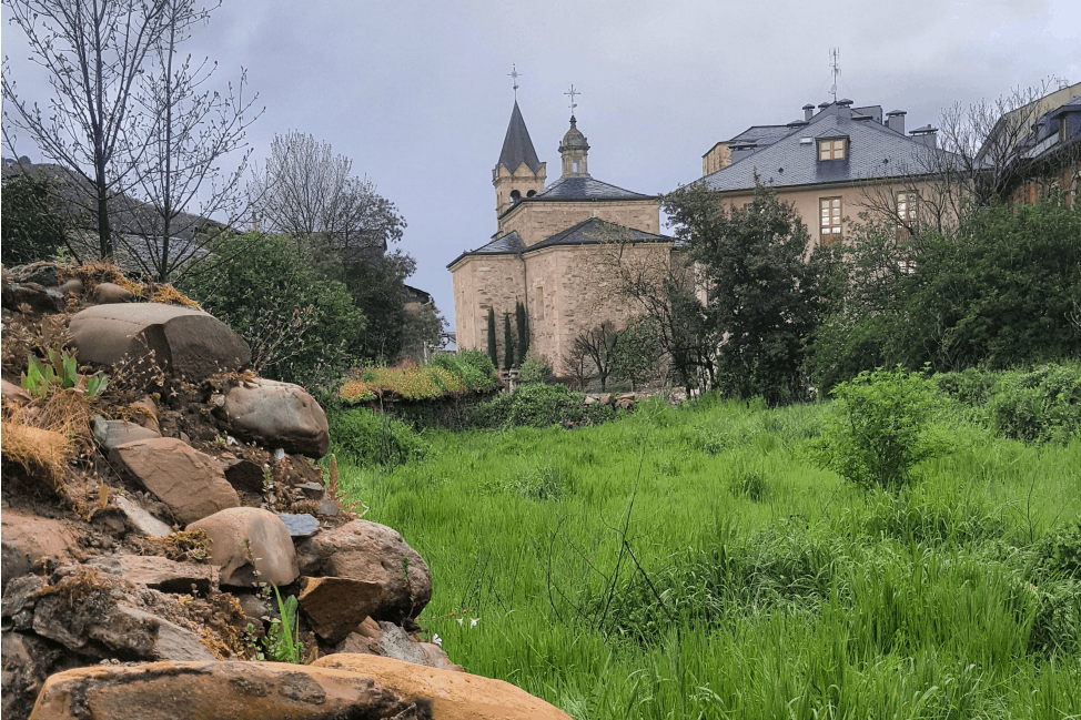 Religious offerings on the Camino