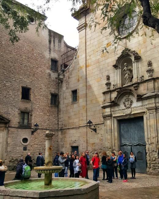 San Felip Neri Square