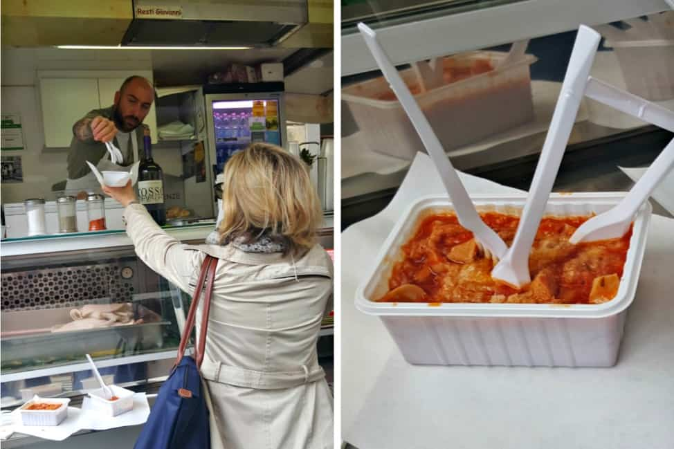 Florentine street food is not for the faint of heart!