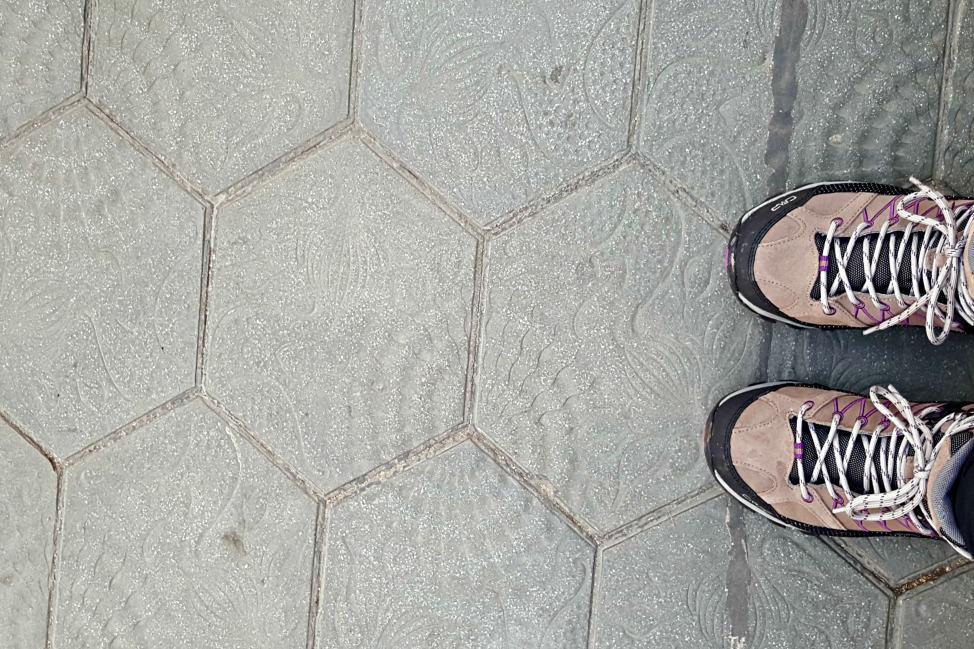 tile works by Gaudi