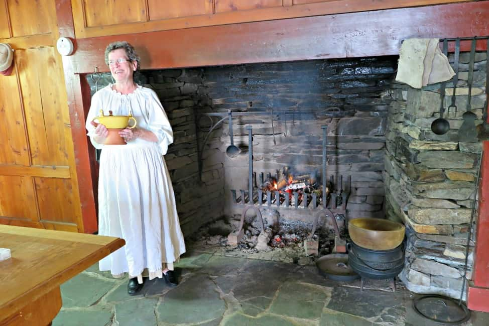 Colonial Cook Out at Colony of Avalon