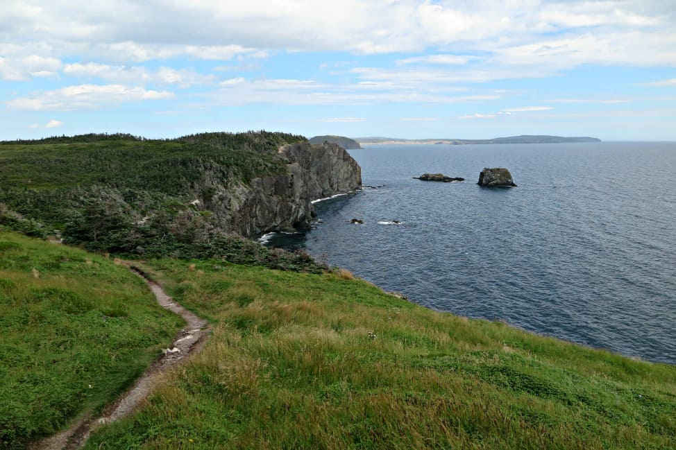 Looking back on the Skerwink Trail