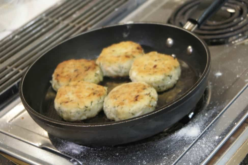 fish cakes at Cod Sounds