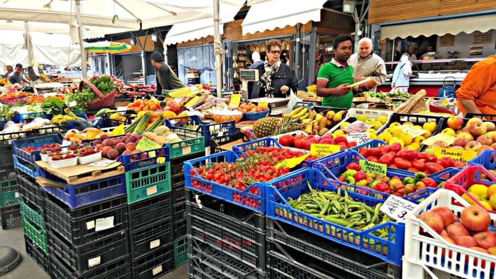 Market in Trastevere