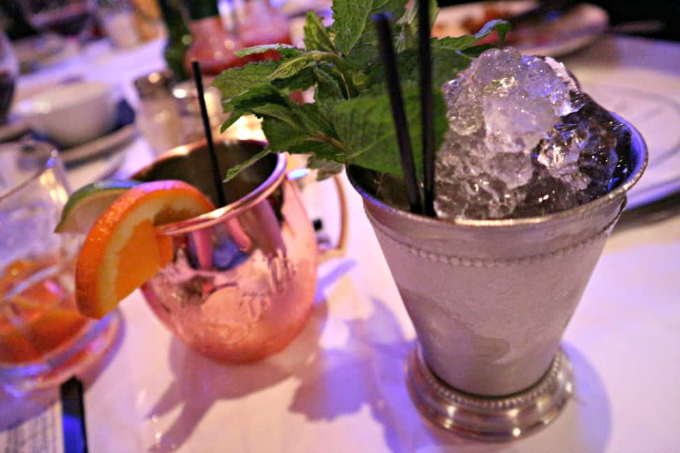 Mint Julep from Clementine's in New Iberia