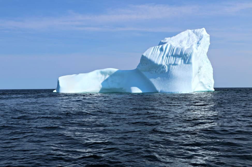 Iceberg in St. Anthony