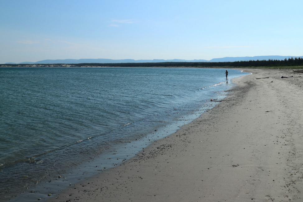 Shallow Bay Beach, Cow Head