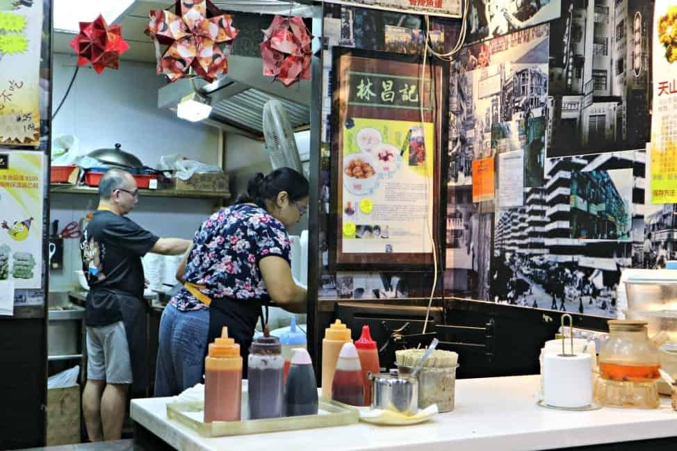 Night food tour in Hong Kong