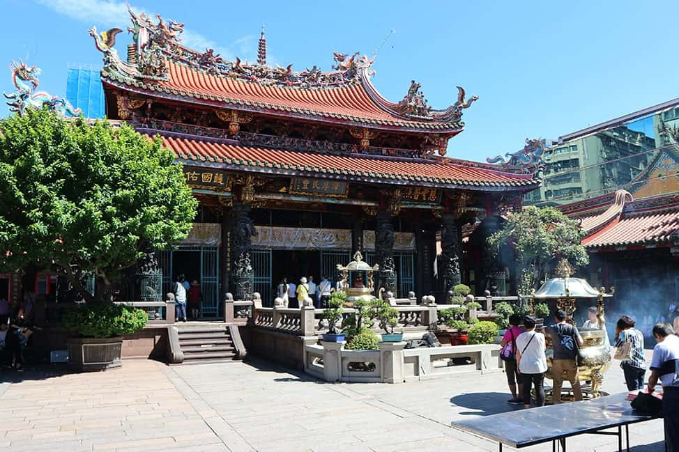 Long Shan Temple, Taipei