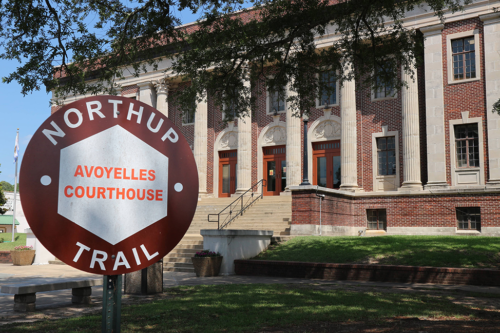 The Courthouse on The Northup Trail, Louisiana