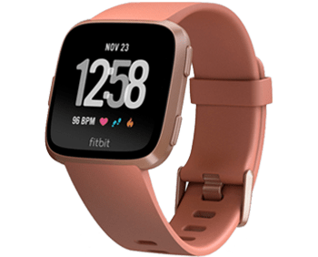 Fitbit Versa in pink