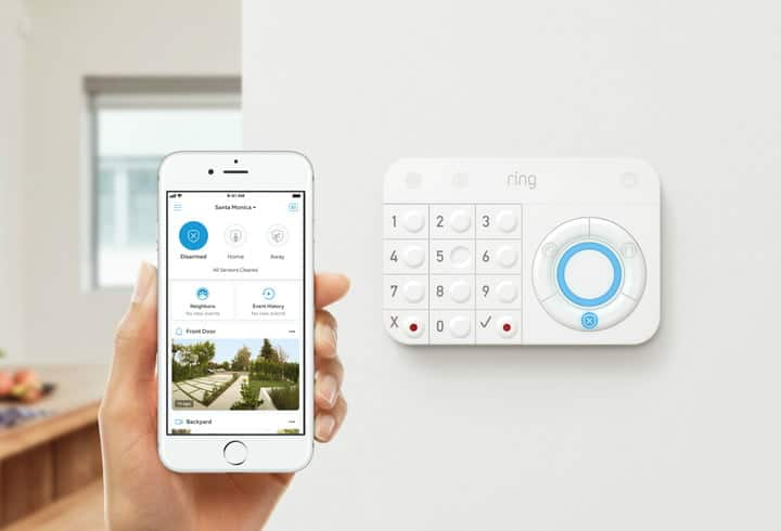 Ring Home alarm