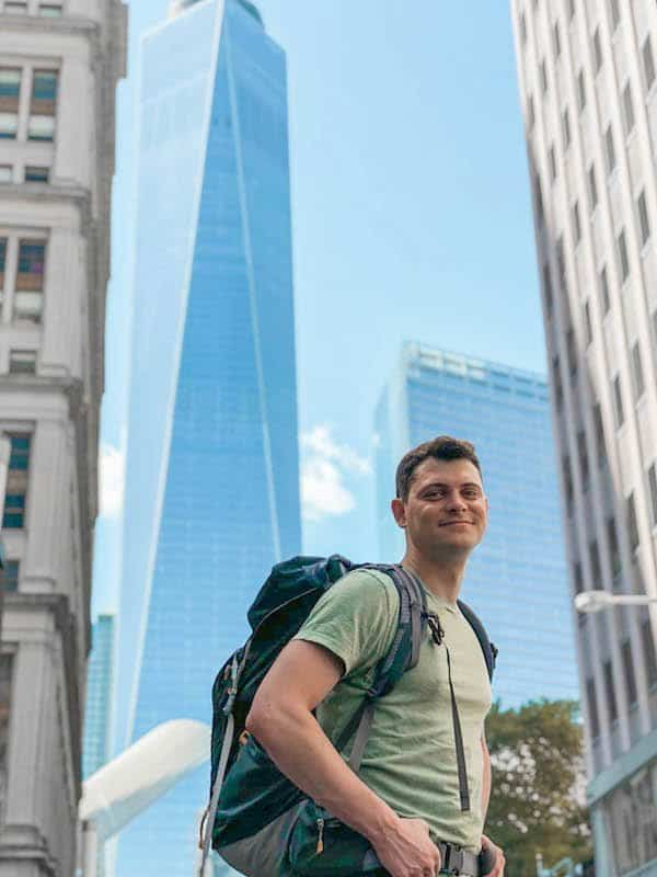 Nomadic Matt in New York City
